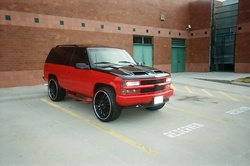 kgptatas 1995 Chevrolet Tahoe