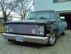 Chevypickupsx 1987 Chevrolet Silverado 1500 Regular Cab