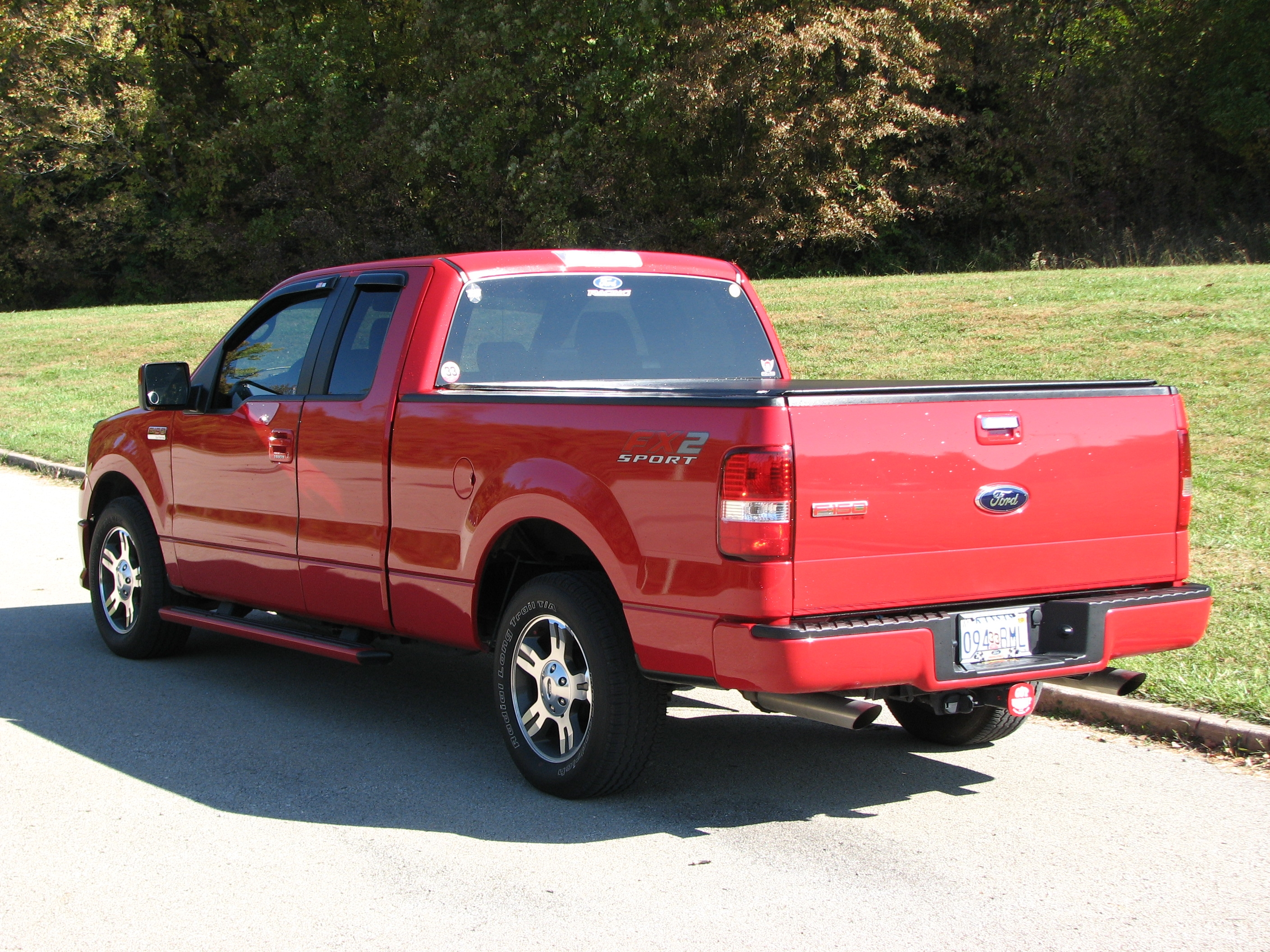 2008red fx2 2008 ford f150 regular cab specs photos modification info at cardomain. Black Bedroom Furniture Sets. Home Design Ideas