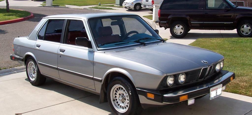 bsquire 1988 BMW 5 Series Specs, Photos, Modification Info ...