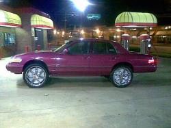 Stuntman86 1995 Mercury Grand Marquis