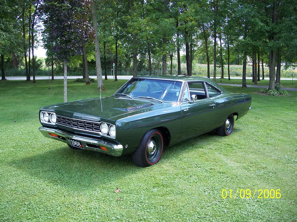 Mikemopar63 1968 Plymouth Roadrunner Specs Photos