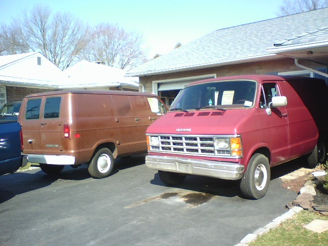 Large on 1997 Dodge Ram Van 1500