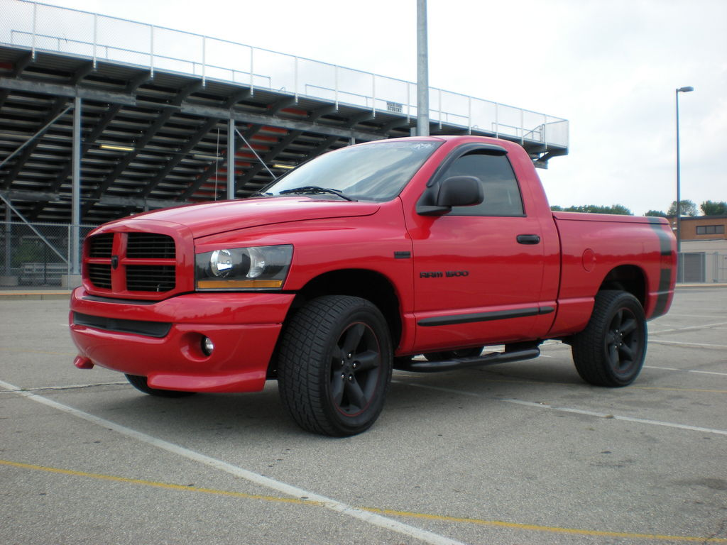 got hemi44 2006 dodge ram 1500 regular cab specs photos modification info at cardomain. Black Bedroom Furniture Sets. Home Design Ideas