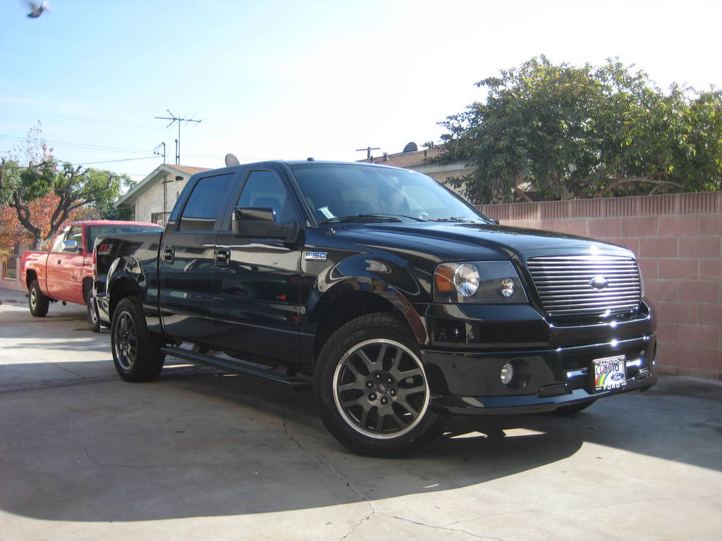 05silvertc 2008 ford f150 regular cab specs photos modification info at cardomain. Black Bedroom Furniture Sets. Home Design Ideas