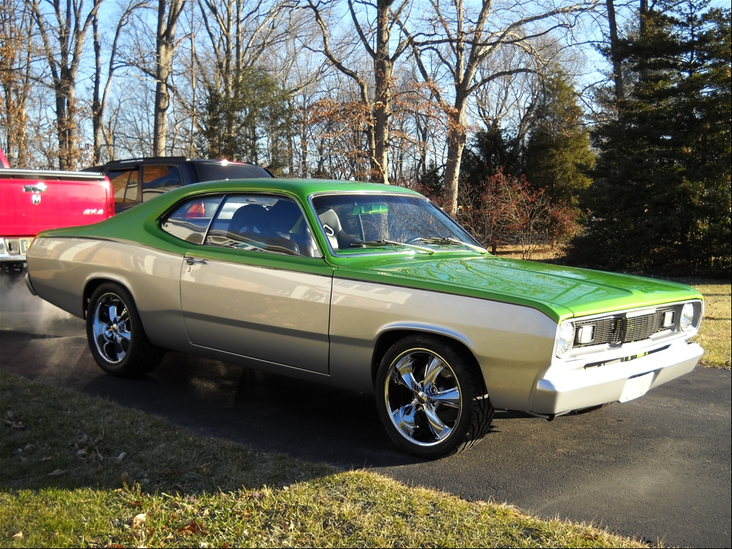 This is my plymouth duster