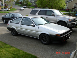 CD5F22Bs 1985 Toyota Corolla
