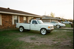 ridindanvinss 1988 Ford F150 Regular Cab