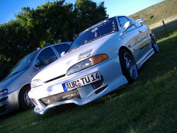 SQPTurboWhites 1993 Hyundai Scoupe