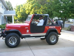 Jeeptheropys 1986 Jeep CJ7