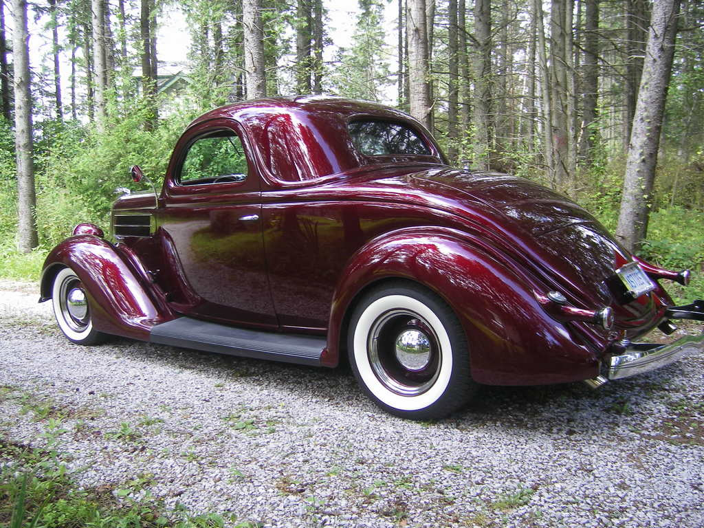 Black Cherry Car Paint: Another Kustom METEOR 1936 Ford Coupe Post... Photo 12278872