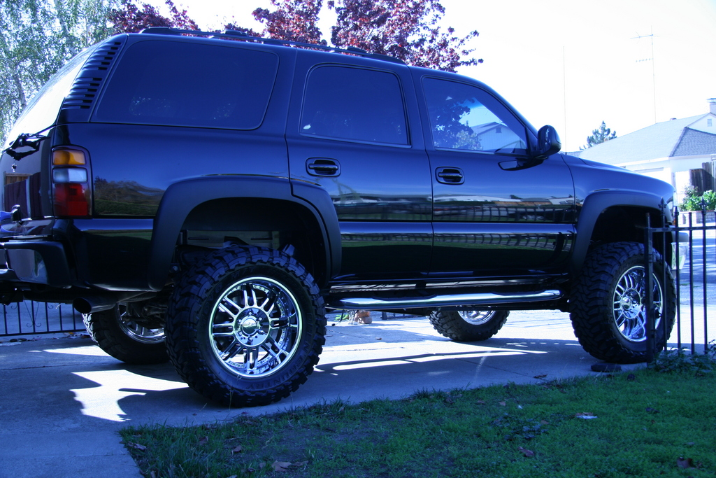 2014 chevy tahoe rocky ridge phantom lifted truck 4 sale. Black Bedroom Furniture Sets. Home Design Ideas
