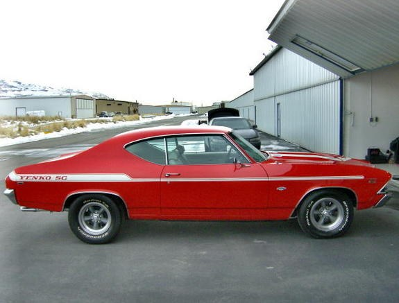 GORGEOUS 1968 CHEVY CHEVELLE BIG BLOCK MUSCLE CAR | HOT CARS