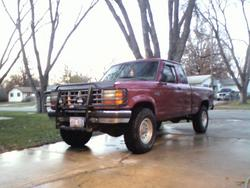 92blueovals 1992 Ford Ranger Regular Cab