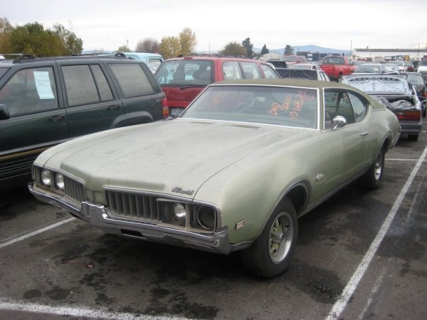 Another 1968Olds98 1969 Oldsmobile Cutlass Supreme post... - 12300341