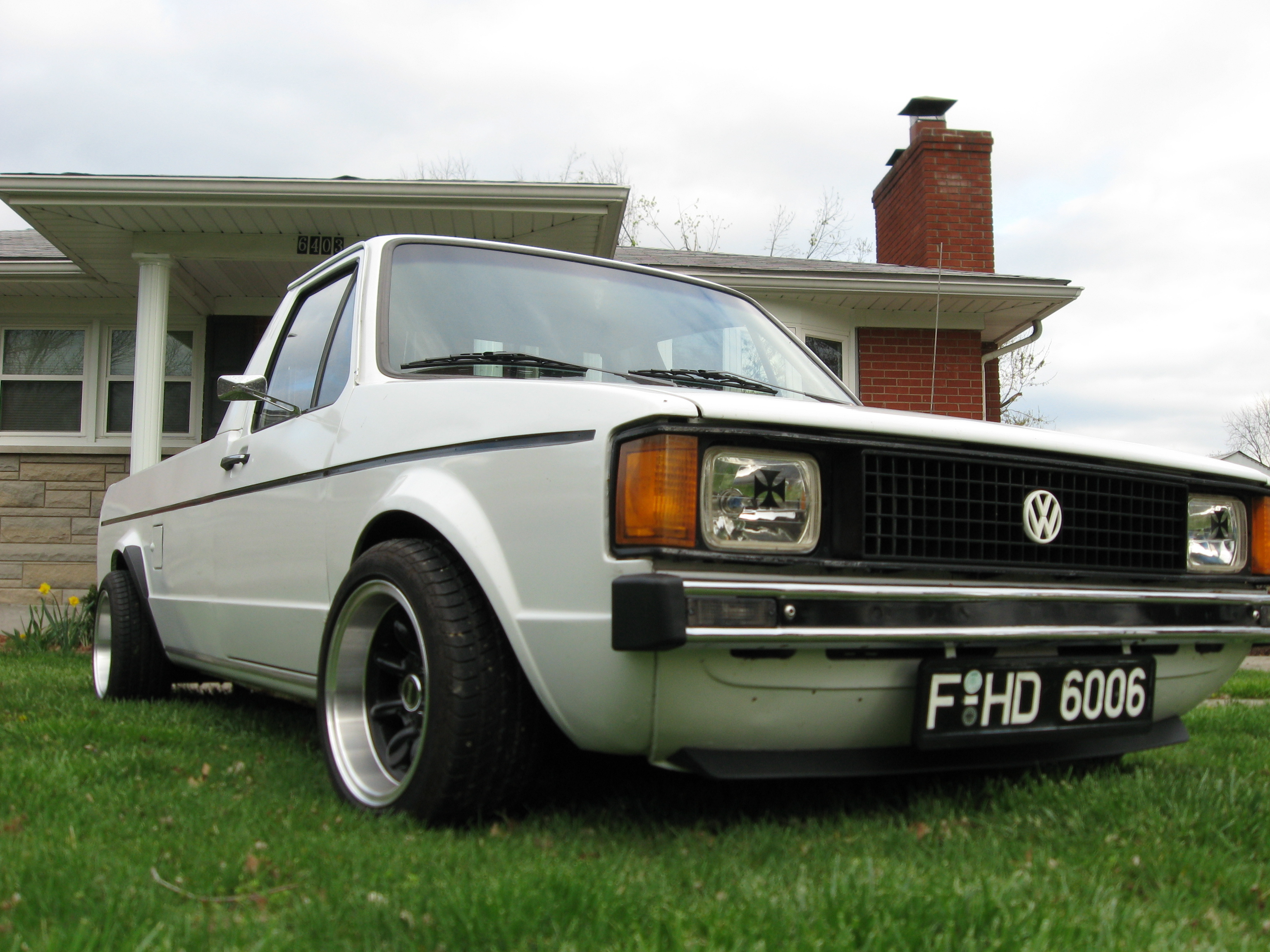 VdubCaddy's 1982 Volkswagen Caddy