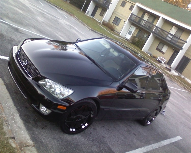 StrtRcrQTinSC 2002 Lexus IS