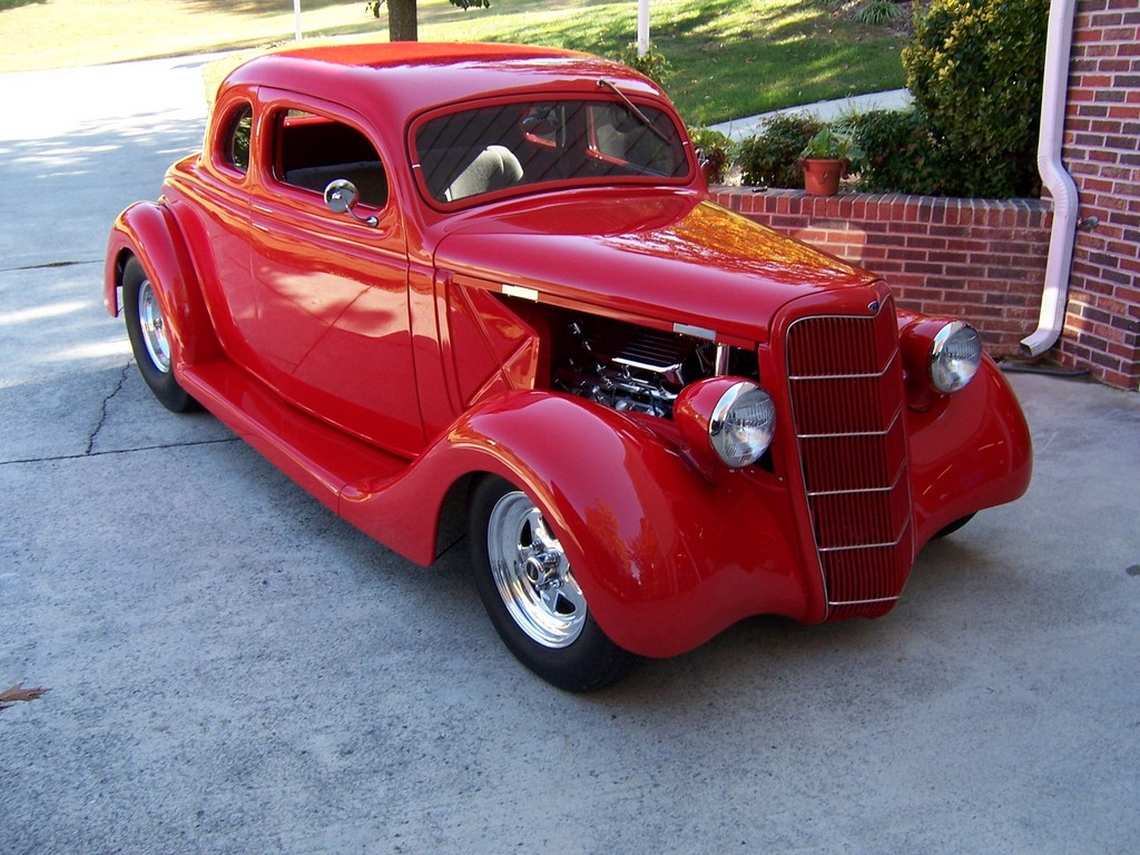 HenryUpholstery 1935 Ford Coupe Specs, Photos, Modification Info at