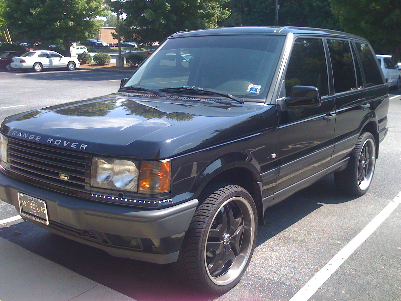dark range 2000 land rover range rover specs photos modification info at cardomain. Black Bedroom Furniture Sets. Home Design Ideas