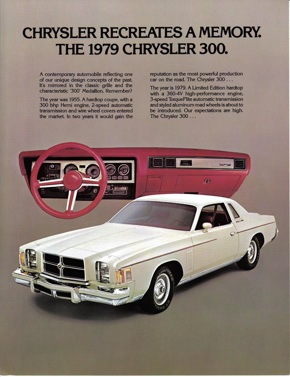 MBFE1979 1979 Chrysler 300 12316901