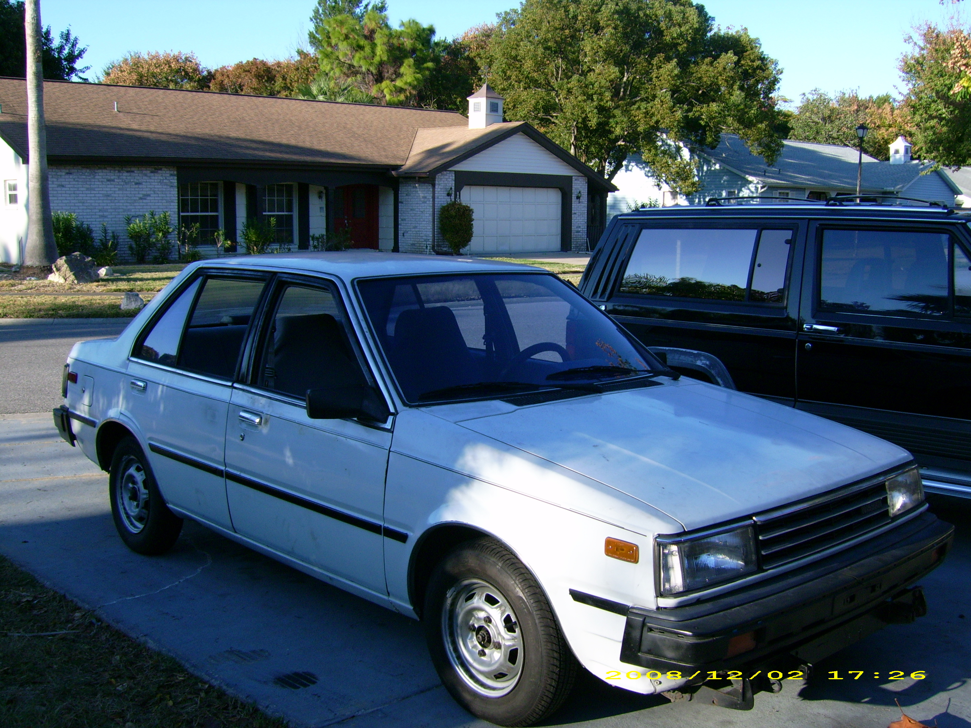 1986 Nissan Sentra Coupé related infomation,specifications ...