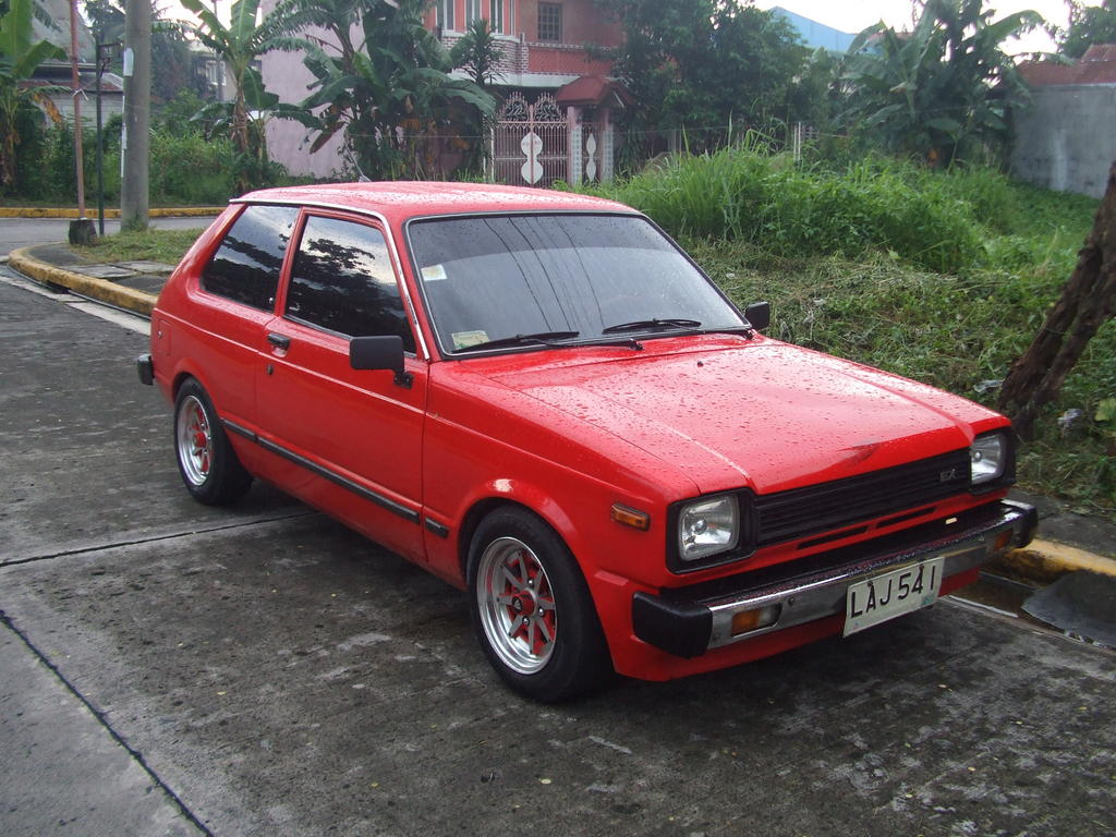 ravaguilar 1982 toyota starlet specs photos modification info at cardomain. Black Bedroom Furniture Sets. Home Design Ideas