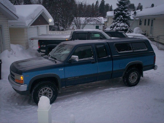 Large on 1991 Dodge Dakota Extended Cab Truck