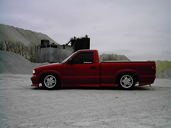 1999 chevy s10 xtreme tire size