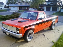 90dak 1990 Dodge Dakota Regular Cab & Chassis