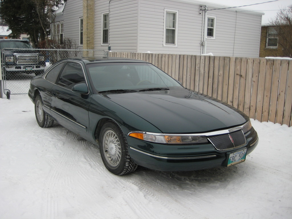 white t 1994 lincoln mark viii specs photos modification. Black Bedroom Furniture Sets. Home Design Ideas