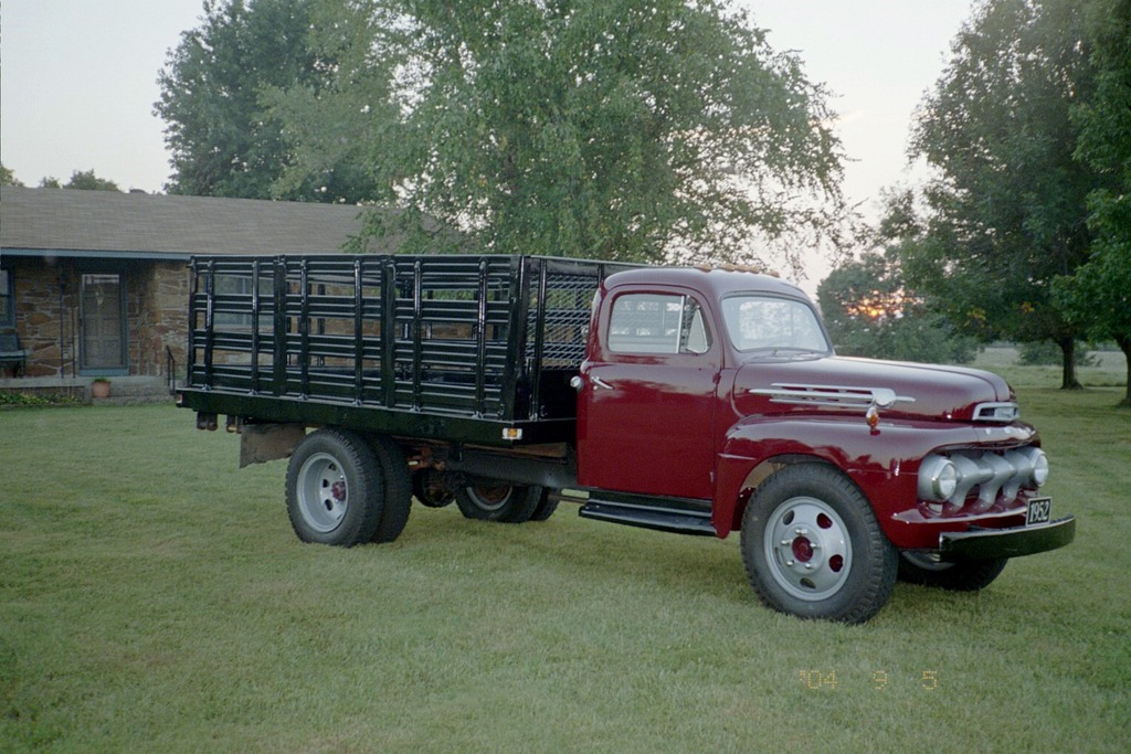 1952 Ford f6 specs