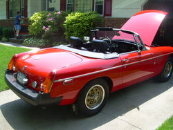1977x2s 1975 MG MGB