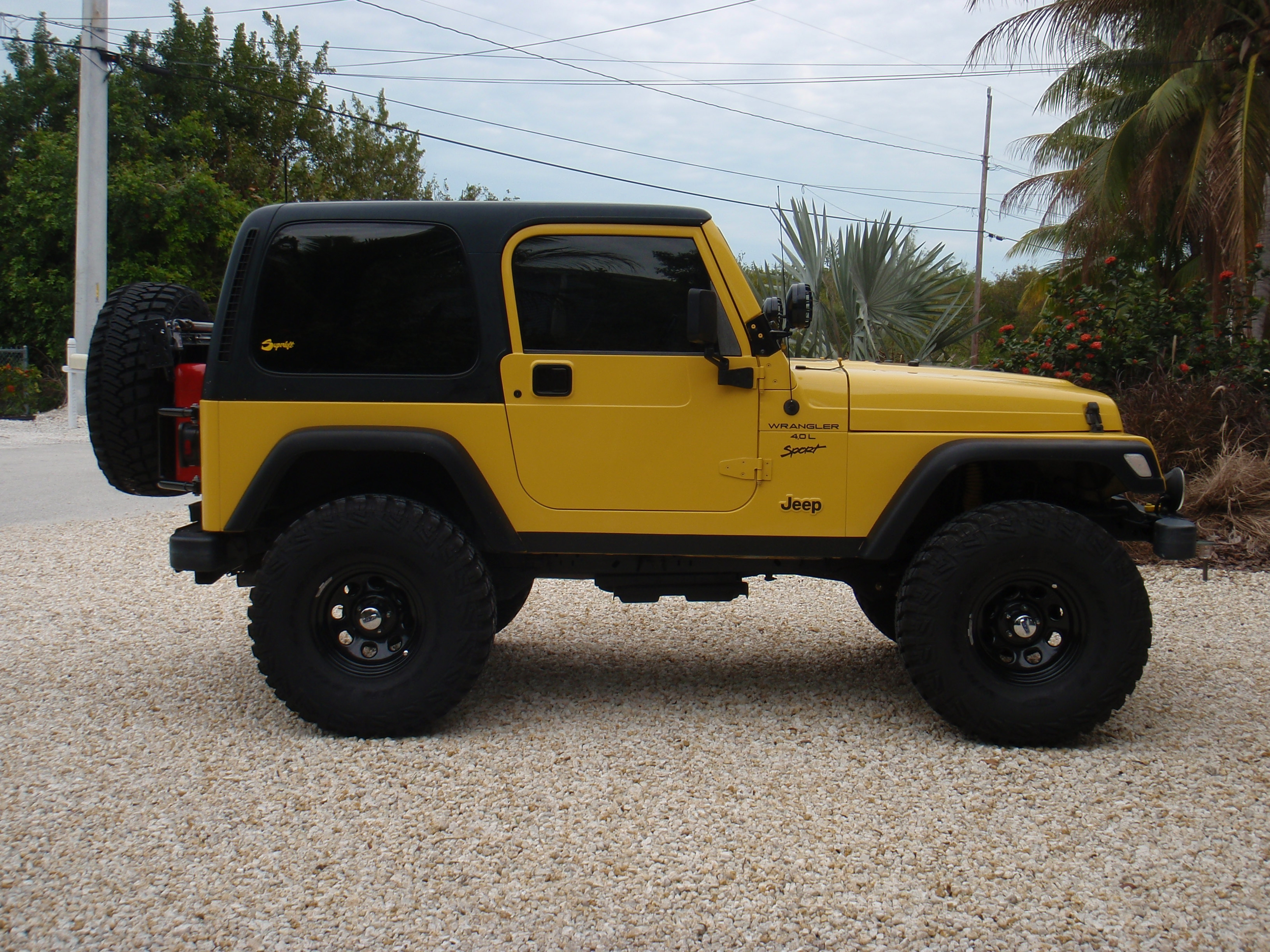Bchjeep 2001 Jeep Tj Specs Photos Modification Info At