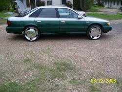 madvilleslabss 1995 Ford Taurus