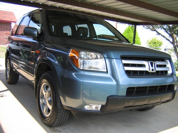 2006 Pilot EX-L Steel Blue