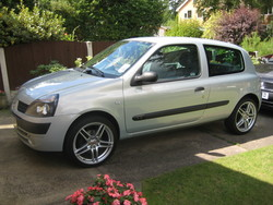 ashflints 2003 Renault Clio