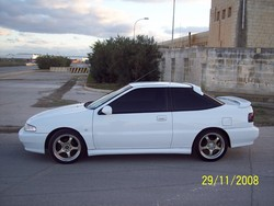 kosi25s 1993 Hyundai Scoupe