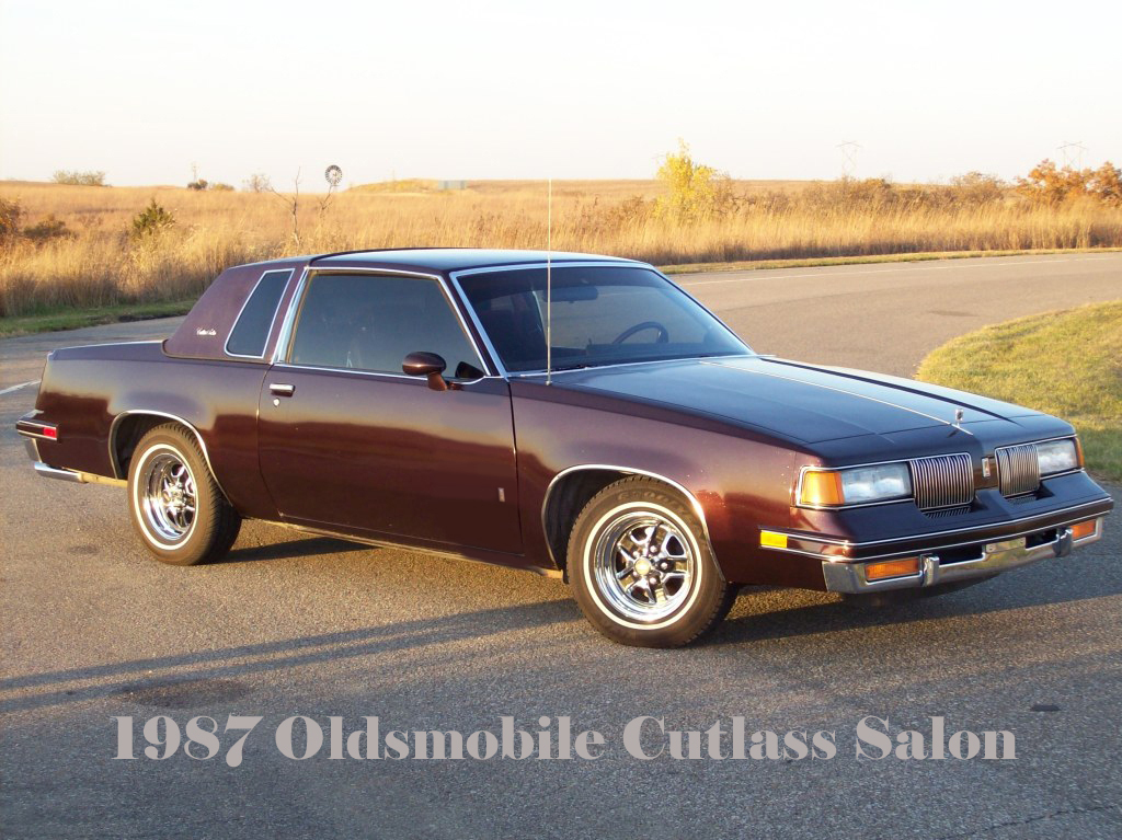 87oldssalon 1987 oldsmobile cutlass salon specs photos