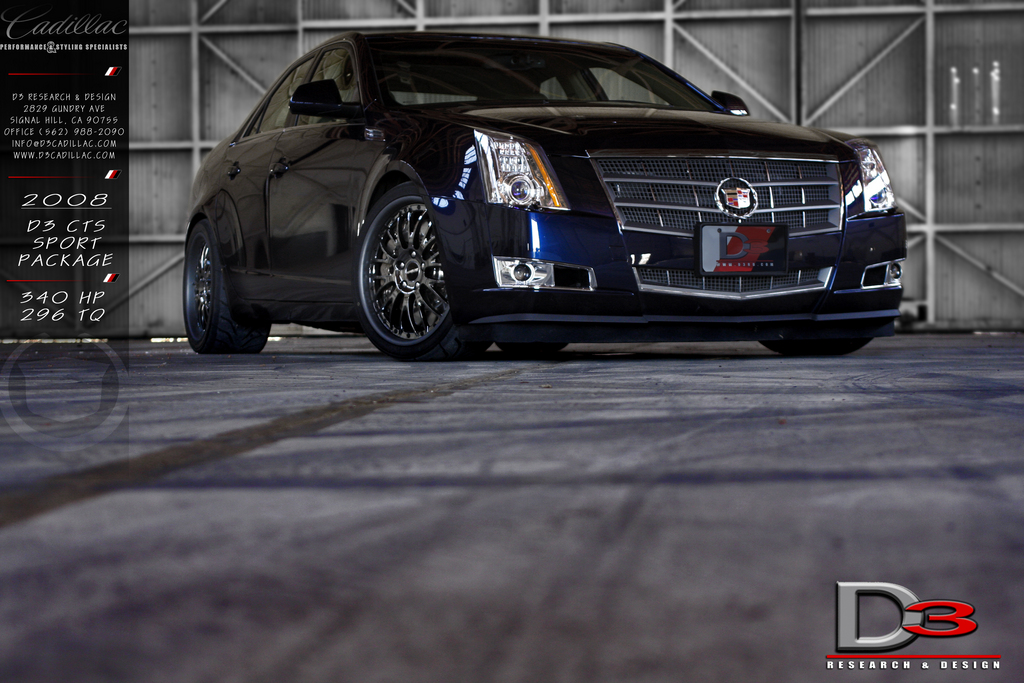 D3auto 2009 Cadillac Cts Specs Photos Modification Info