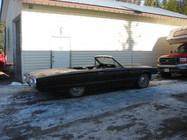 Another Ford_Rellow 1964 Ford Thunderbird post... - 12359545