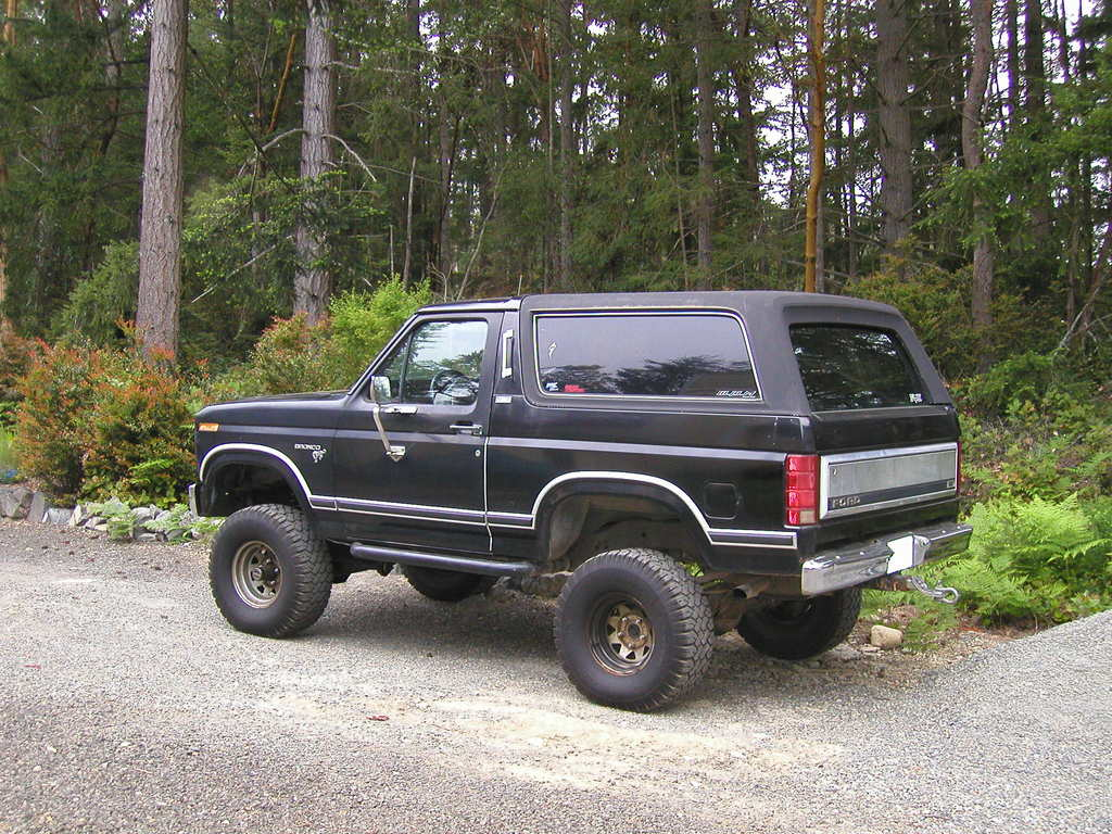 Similar to my Bronco, but mine wasn't lifted.