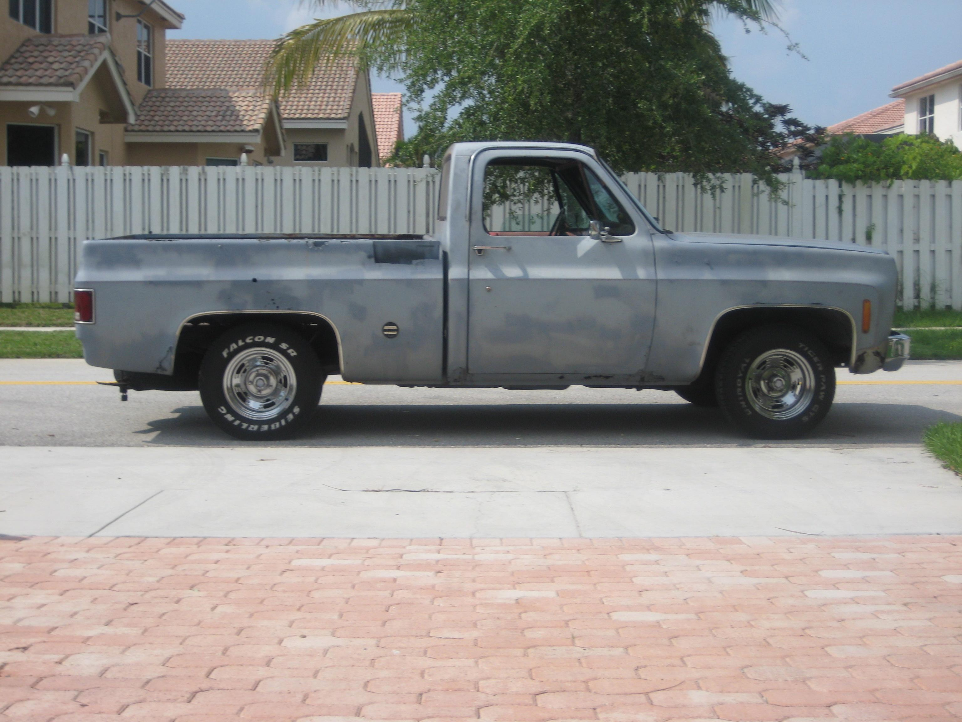 Another Cominclean 1977 Chevrolet C/K Pick-Up post... - 12735153