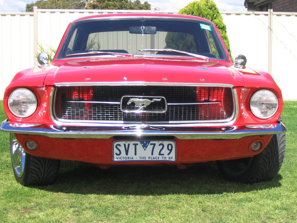 02041947 1967 Ford Mustang