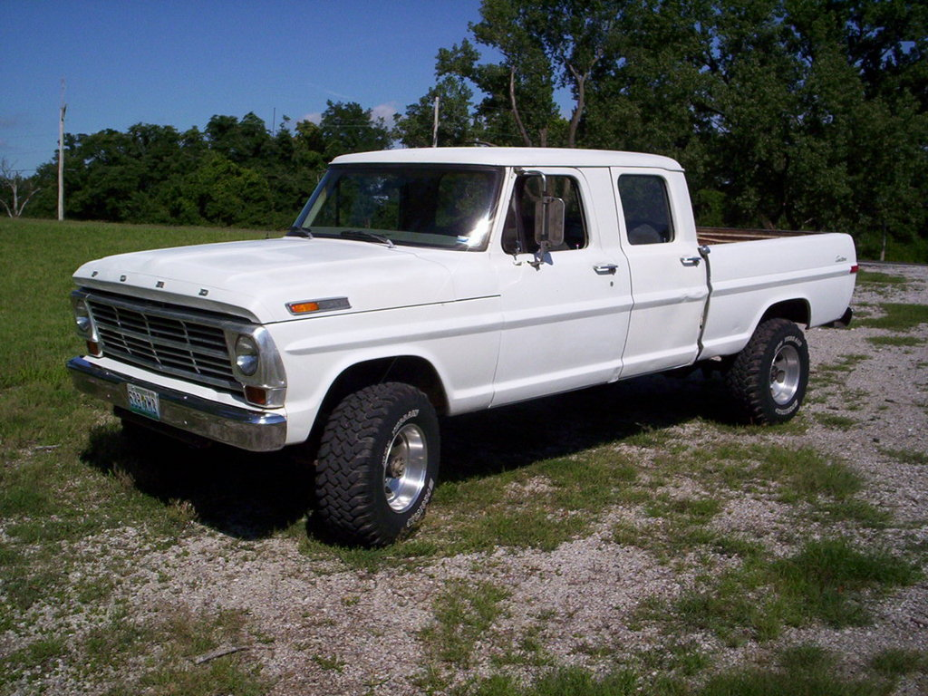 Fomocoguy 1969 Ford F250 Crew Cab Specs Photos Modification Info At Cardomain