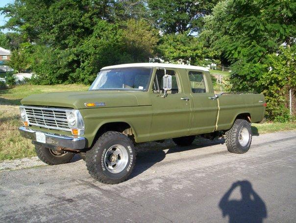 Another fomocoguy 1969 Ford F250 Crew Cab post... - 12506484
