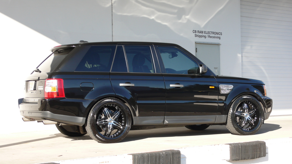 503motoring 2007 land rover range rover sport specs photos modification info at cardomain. Black Bedroom Furniture Sets. Home Design Ideas