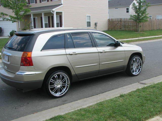 242dst 2006 chrysler pacifica specs photos modification info at. Cars Review. Best American Auto & Cars Review