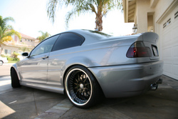 Blkout16s 2006 BMW M3