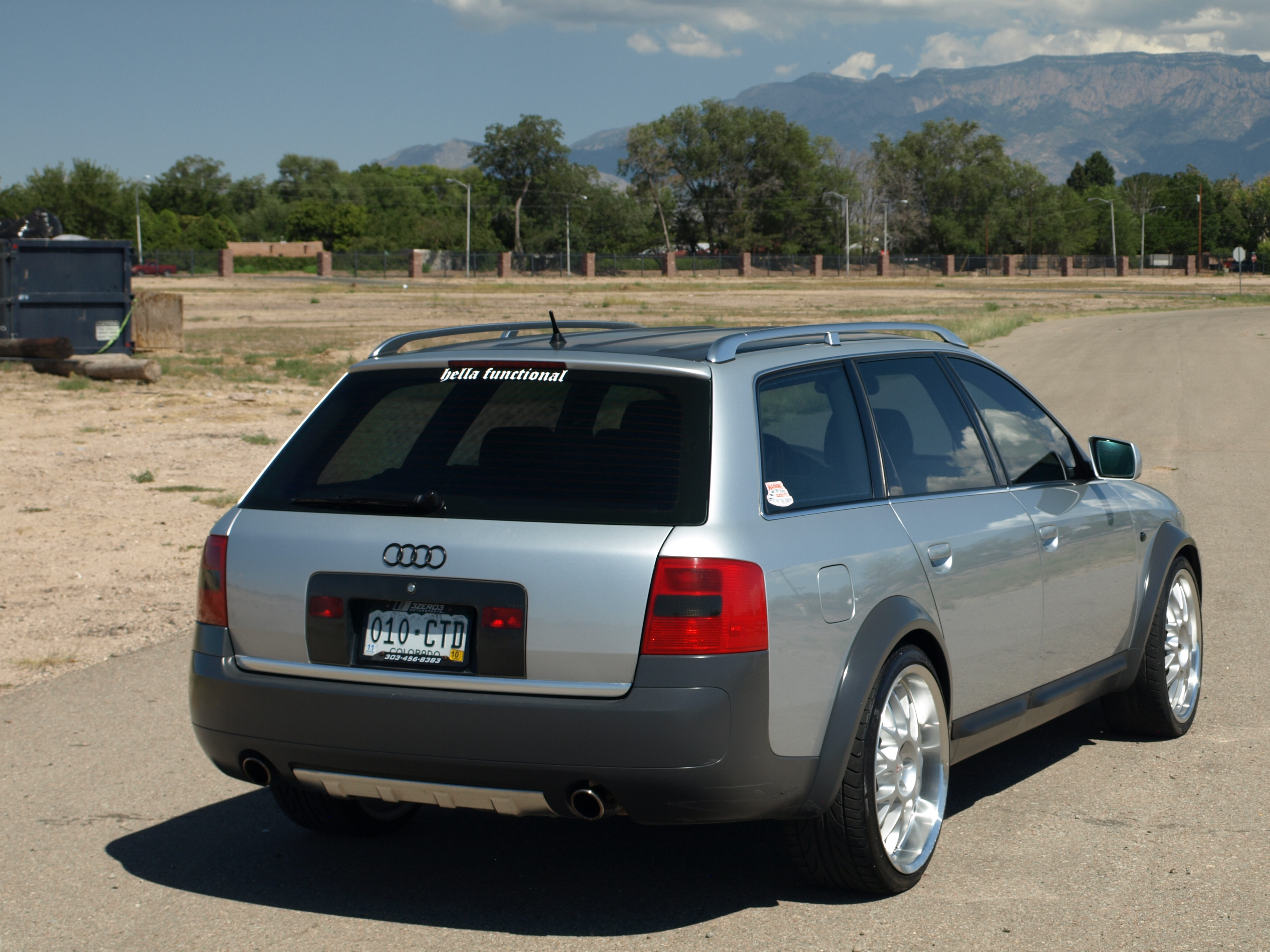 Another green-eggs-n-ham 2001 Audi allroad post... - 13544180