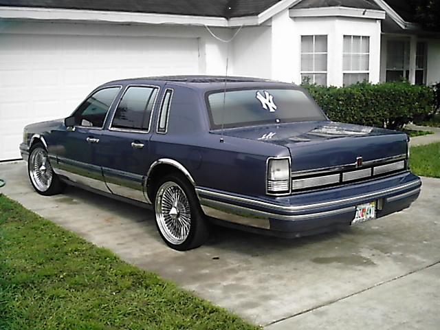 Johnnyjuice S 1991 Lincoln Town Car In Ocala Fl